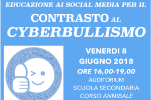 "WORKSHOP ""EDUCAZIONE AI SOCIAL MEDIA PER IL CONTRASTO AL CYBERBULLISMO"""